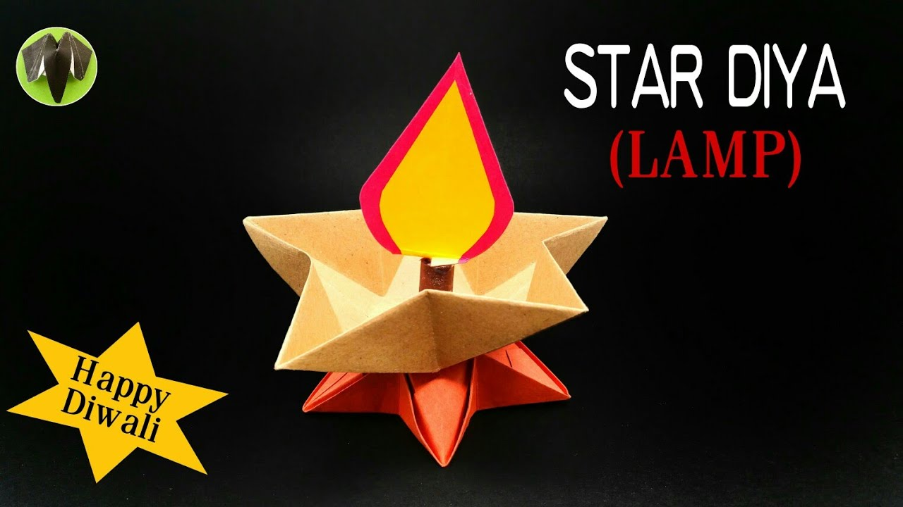 Star Diya ( Lamp ) for Diwali Decoration - DIY | Handmade ... for Diwali Lamp Craft  55dqh