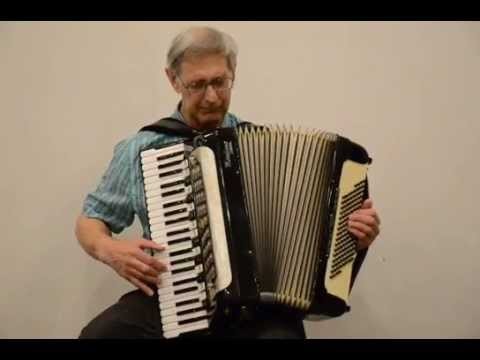 Edvard Grieg: MorningMood from Peer Gynt Suite No. 1 - George Secor, Accordion