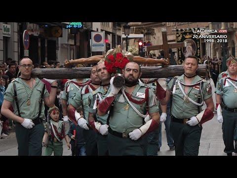 Procesión del Santo Entierro - Legionarios - Legión - Viernes Santo - Semana Santa de Albacete 2017