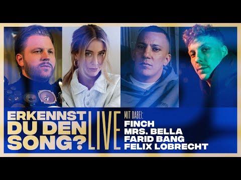 Erkennst DU den Song? | 🔴LIVE (mit Felix Lobrecht, Farid Bang, FiNCH & MRS. BELLA)