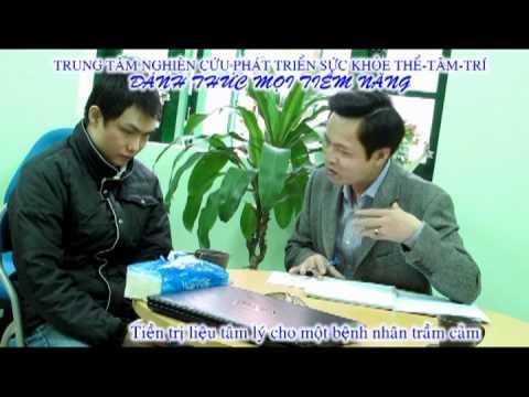Chuyên gia thôi miên Nguyễn Mạnh Quân thực hiện tiền trị liệu tâm lý.mpg