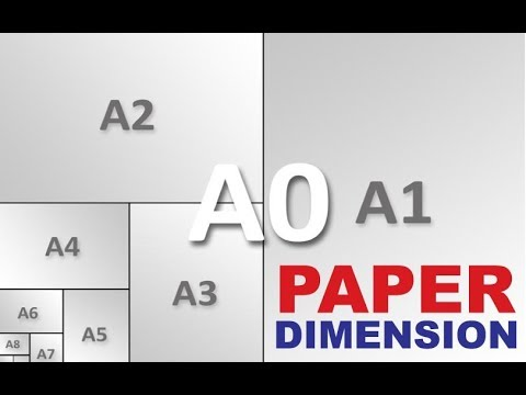 A4 Size Paper Measurement and Dimensions