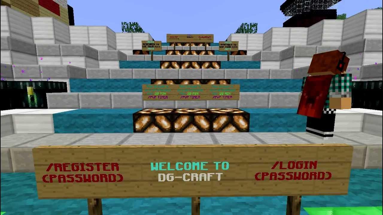 DG CRAFT (Cracked Minecraft Server)