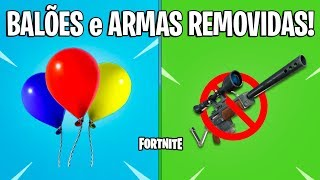 FORTNITE-NEW BALLOONS et WEAPONS REMOVED! -Patch 6,21