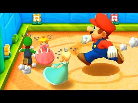 Mario Party: The Top 100 Minigames - Mario Vs Luigi Vs Peach Vs Rosalina