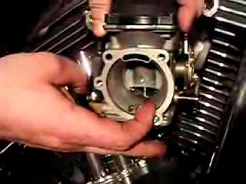 BAD 2005 Harley XL CV Carb Diaphragm - YouTube