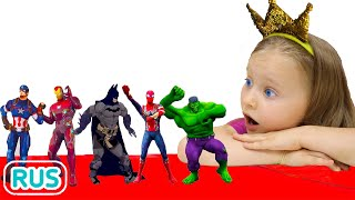 Песня про цвета с Милли и семья | Учим цвета с супергероями - Детская песня