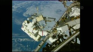 International Space Station U.S. EVA 31 (time lapse)