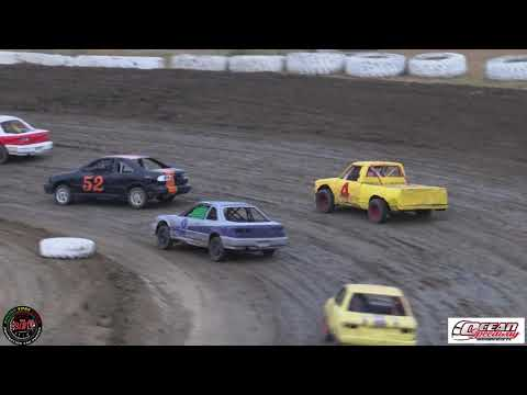 Ocean Speedway July 26th, 2019 4 Banger Main Event Highlights