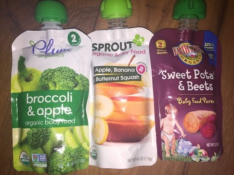 Organic Baby Food Review: Plum Organics, Sprout and Earth's Best
