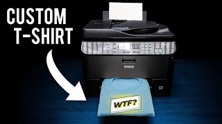How To Print T Shİrts Using A Home Printer and Transfer Paper