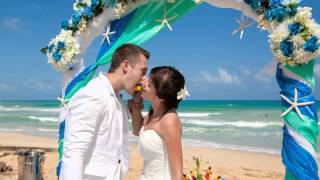Волшебная свадьба Таисии и Олега на Карибах! агентство GrandLoveWedding