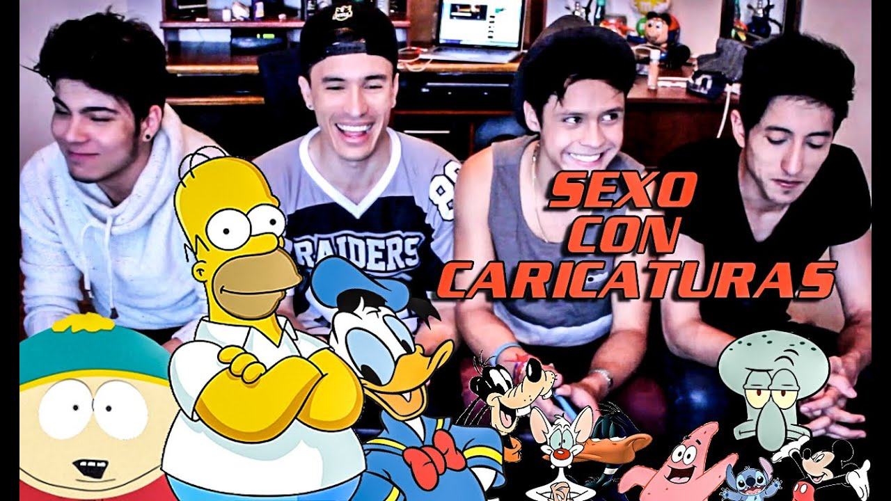 sexo con caricaturas: