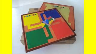 Uckers Game Standard Board Design