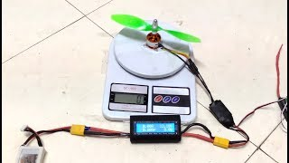 DYS D2822 1450 Kv Brushless motor review with thrust Test