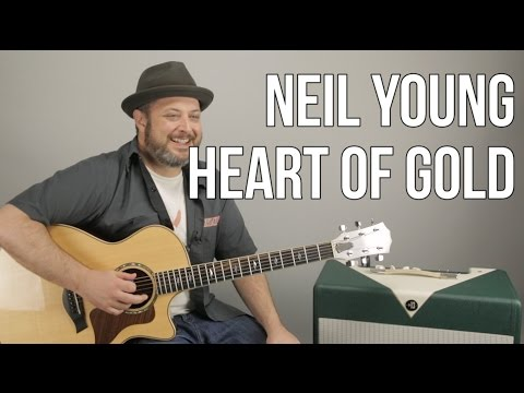 "How to Play ""Heart of Gold"" on Guitar by Neil Young - Easy Acoustic Songs"