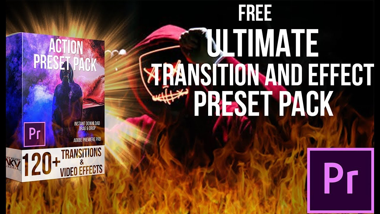 FREE ULTIMATE TRANSITION AND EFFECT PRESET PACK | ADOBE PREMIERE PRO CC 2019