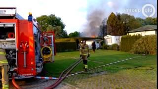 Brand verwoest caravan op camping in Doesburg - Omroep Gelderland