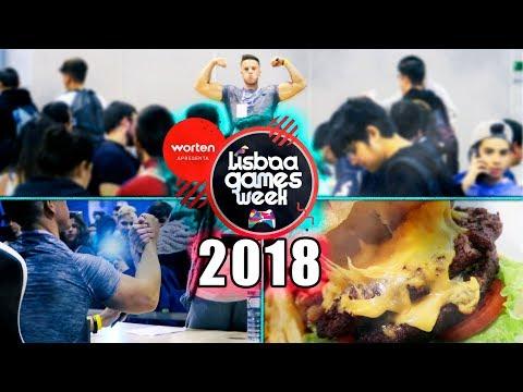 LISBOA GAMES WEEK 2018 !!!