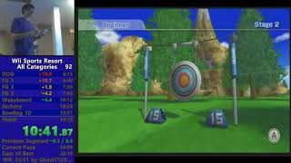 *Former World Record* Wii Sports Resort All Categories in 33:26