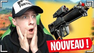 [LIVE FORTNITE EN] NEW UPDATE! A NEW ARME CHEATER DÉBARQUE!