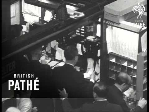 Report On American Stock Market (1962)