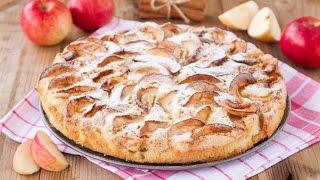 Дуже простий Рецепт шарлотки з яблуками.