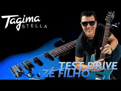 Test Drive Tagima Stella H3 com Zé Filho