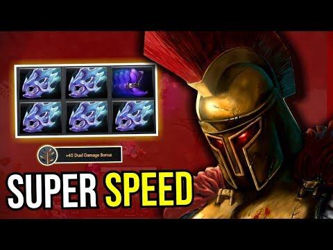 MAX SPEED - 5x Moon Shard Legion Commander Super Attack Speed Razor 7.13 Dota 2 | Upside Down 104