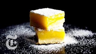 Lemon Bars With Olive Oil And Sea Salt | Melissa Clark Recipes | The New York Times