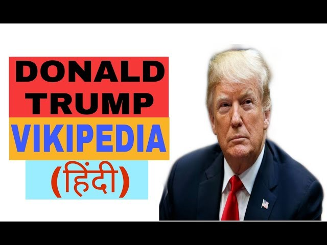 Donald Trump vikipedia
