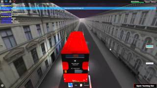 Roblox London & South V4.2 Wright Gemini 3 Hybrid Stagecoach London Route 8 Part 1