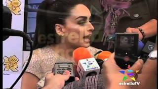 Ana De La Reguera Opina Sobre Jorge Ramos y Ana Barbara (Estrellas Hoy)