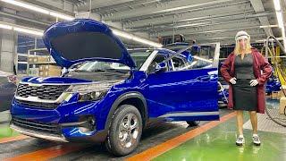 Ржавеет ли Kia K5 с Автотора? Есть ли гарантия на русские BMW? Блогер на заводе