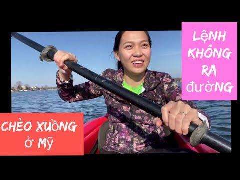 Vlog 954 ll LỆNH GIỚI NGHIÊM KHÔNG CHO RA ĐƯỜNG THÌ MÌNH RA SÔNG CHÈO XUỒNG 🤣🤣