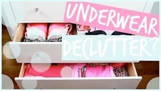 Underwear Declutter?! + Dresser Tour! // Elle Fowler