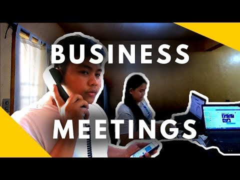 Paano Mag Karoon Nang Effective Business Meetings - Negosyo Tips