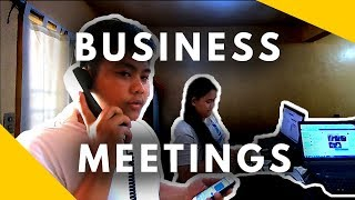 Paano Mag Karoon Nang Effective Business Meetings - Negosyo Tips thumbnail