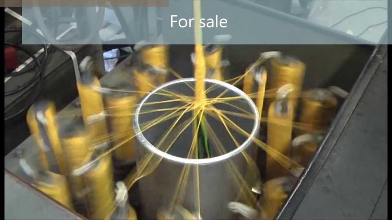vertical braiding machine sold youtube rh youtube com wiring harness braiding machine for sale Braiding Machines Hamilton