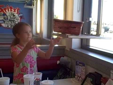 The Cones visit Fritz&39;s Railroad Restaurant  Kansas City