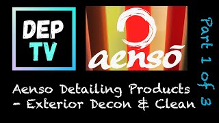 Aenso Product Test - Part 1 of 3 - Prewash - Snow Foam - Shampoo - Wheel Cleaner & Tyre Cleaner