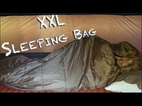 AFFORDABLE Super Sized XXL High Quality Sleeping Bag!