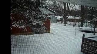 LOOK AT THE SNOW!!! View 1