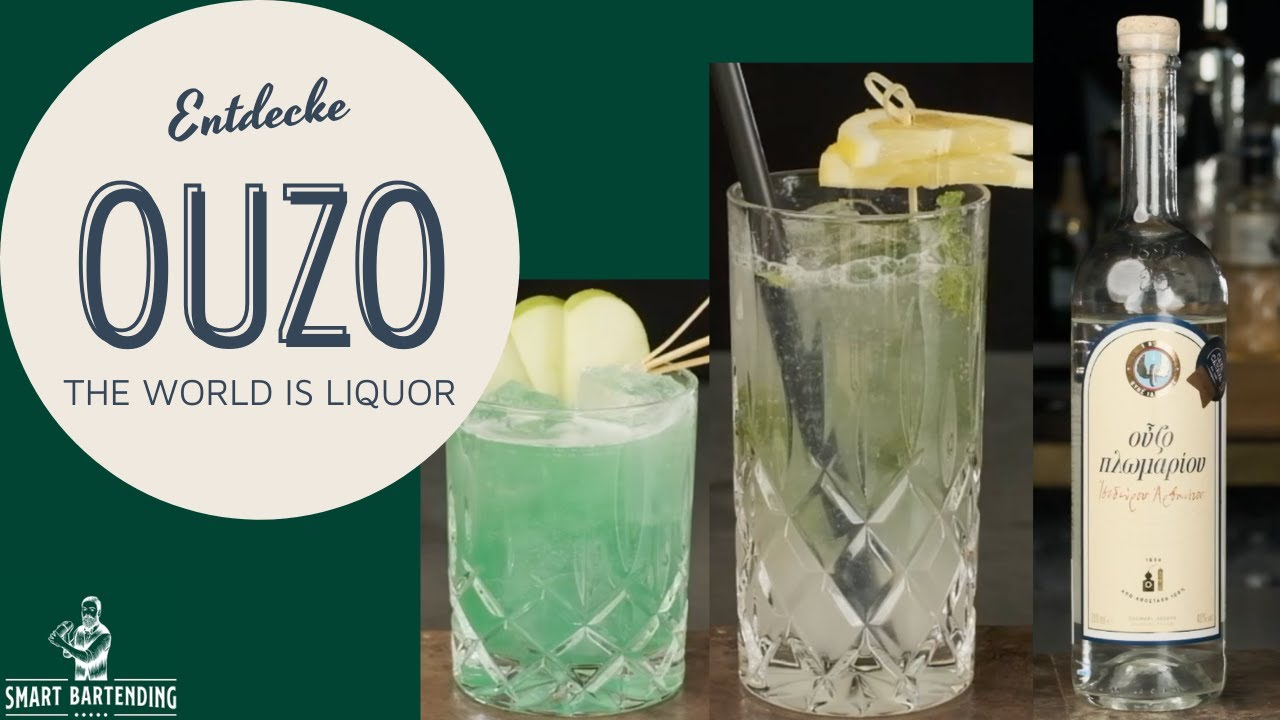 Download Cocktails mit Ouzo 🇬🇷 I The World is Liquor #5