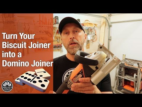 Flip Your Biscuit Joiner Right into a Domino Joiner