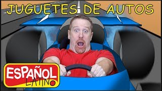juguetes-de-autos-aprender-espaol-latino-con-steve-and-maggie