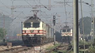 BHOPAL SHATABDI EXPRESS SHATTERS CHATA AT 150 KMPH : FASTEST TRAIN OF INDIA:KING OF INDIAN RAILWAYS