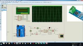 датчик тока ACS712 - работа на переменном токе