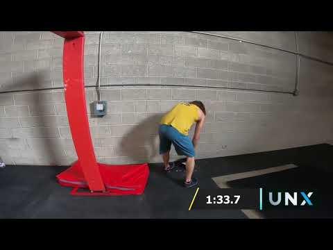Isaac Caldiero Ninja Warehouse | UNX Season 1 Qualifier Runs