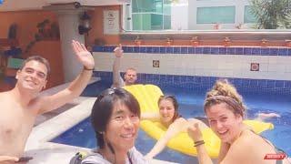 The Best Hostel In The World! 最高のホステル!Agavero Hostel Cancun カンクンアガヴェロホステル